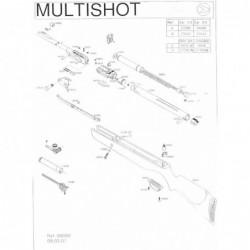 1 Gamo Multishot Despiece