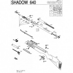 1 Gamo Shadow 640 2003 Despiece