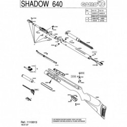 1 Gamo Shadow 640 2006 Despiece