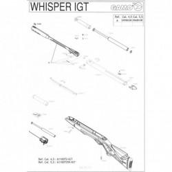 1 Gamo Whisper IGT Despiece