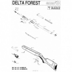 1 Gamo Delta Forest Despiece