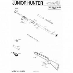 1 Gamo Junior Hunter Despiece
