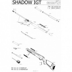 1 Gamo Shadow IGT Despiece