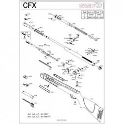 1 Gamo CFX 2010 Despiece