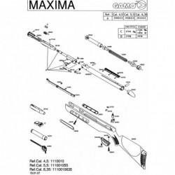 1 Gamo Maxima 2007 Despiece