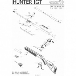 1 Gamo Hunter IGT Despiece
