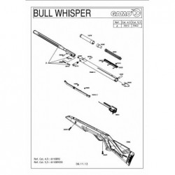 1 Gamo Bull Whisper Despiece