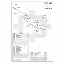 1 Despiece Norica Hawk GRS