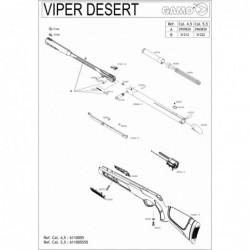 1 Gamo Viper Desert Despiece