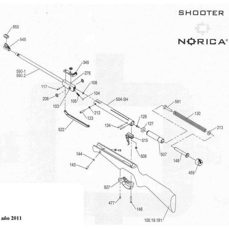 1 Norica Shooter 2011 Despiece