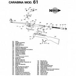Norica 61 +1998 Despiece