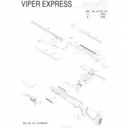1 Gamo Viper Express 2010 Despiece