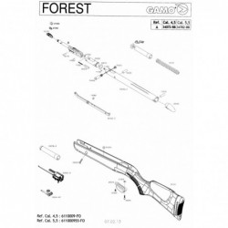 1 Gamo Forest Despiece