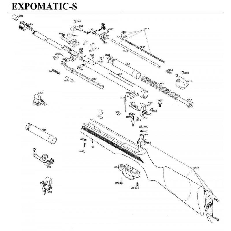 1 Despiece Gamo ExpoMatic-S
