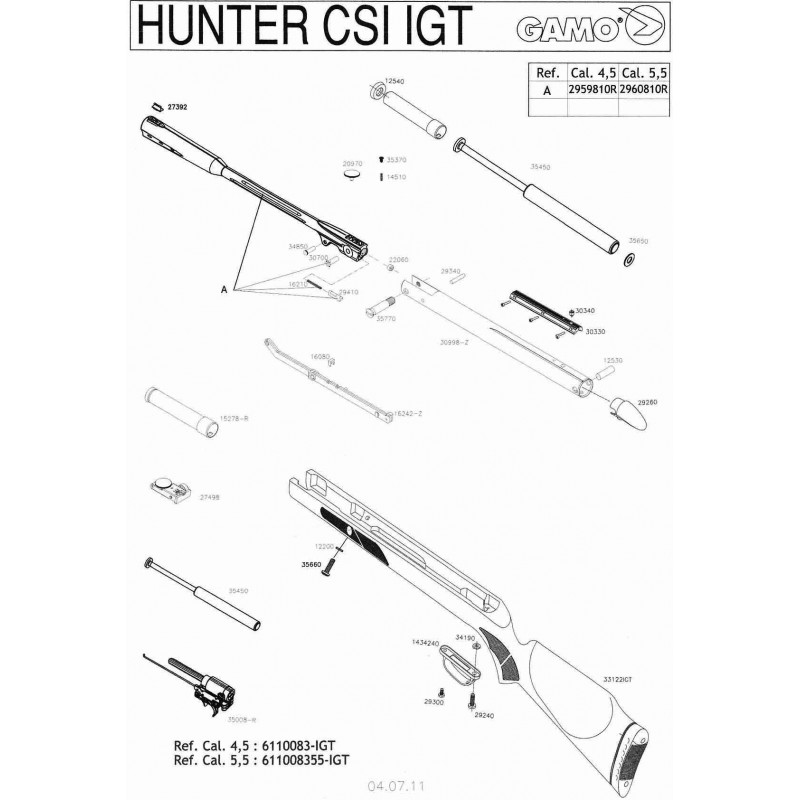 1 Gamo Hunter CSI IGT
