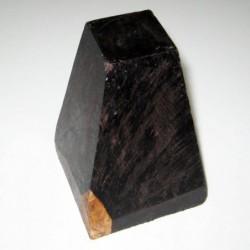 Ebano negro FSC en bruto forma piramidal irregular