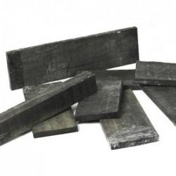 Trozo Ebano negro FSC 305X75X10mm en bruto
