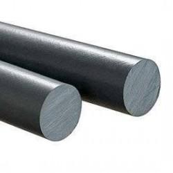 PVC Cilindro Gris Macizo 80mm X 50 Cm.