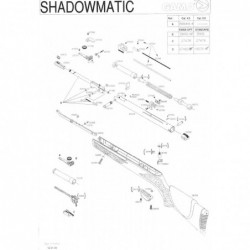 1 Gamo Shadowmatic 2005 Despiece