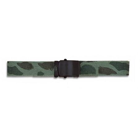 Cinturon camo-verde Barbaric