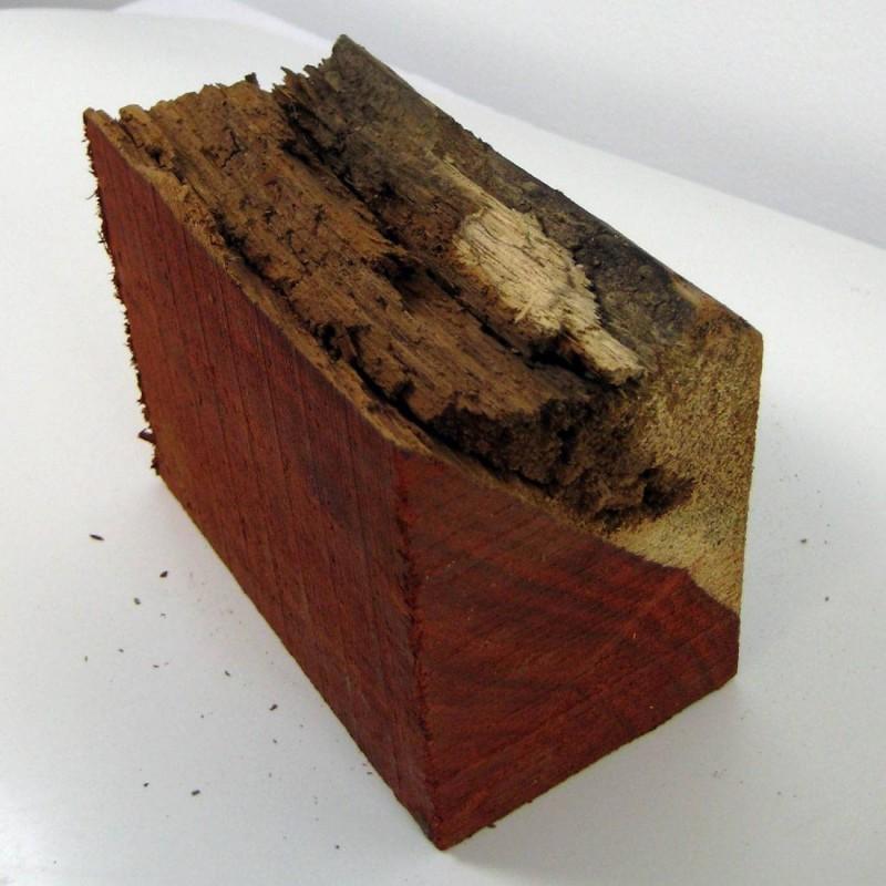 Madera Palo Rojo en bruto