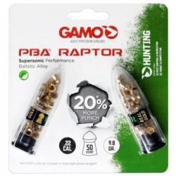 Balines Gamo Raptor Cal. 5.5 PBA Blister 2 Vainas x 25