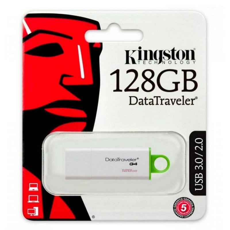 Pendrive Kingston 128 GB Datatraveler G4 USB 3.1