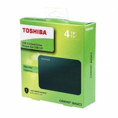 Disco duro HD Toshiba 4TB Canvio Basics USB 3.0
