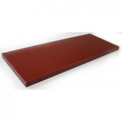 Placa Polietileno marron 410X155x15mm