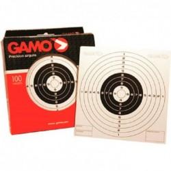 Dianas de carton Gamo 100 unidades