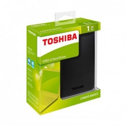 Disco duro HD Toshiba 1 Tb USB 3.0 Canvio Basics