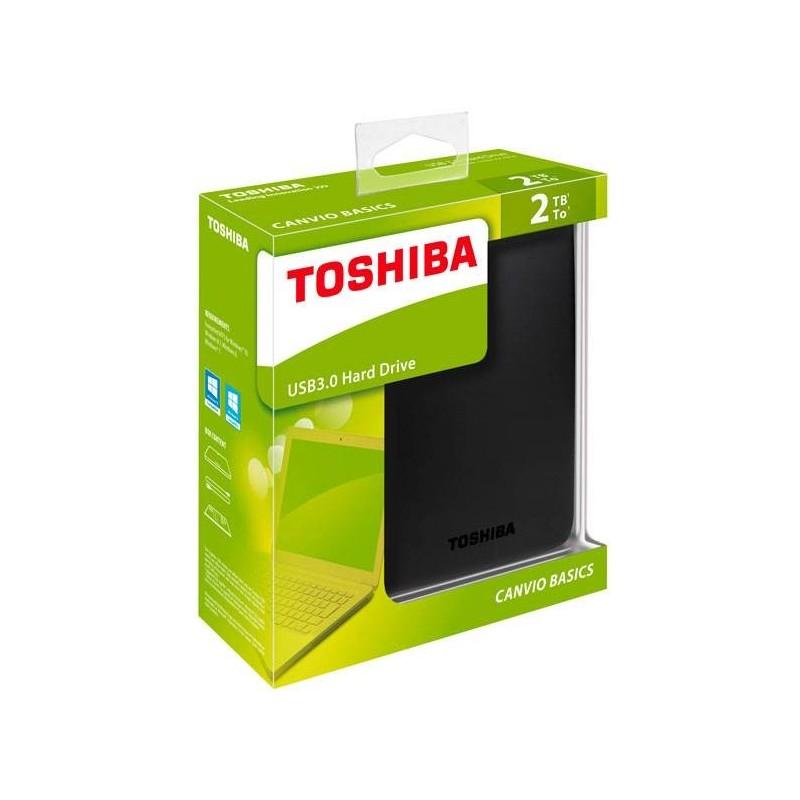 HD Toshiba 2TB Canvio Basics USB 3.0
