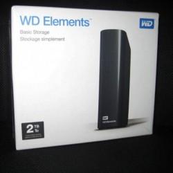 HD Western Digital Desktop 2 Tb